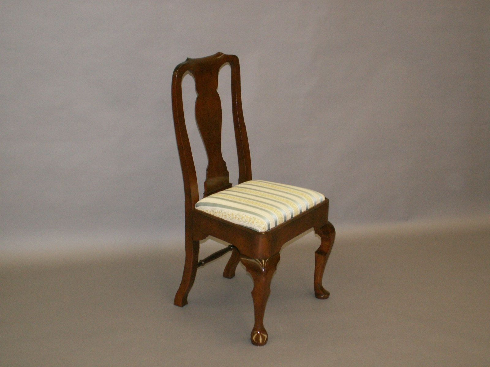 queen anne side chairs cherry unusual for hallway handmade chair reproduction by john