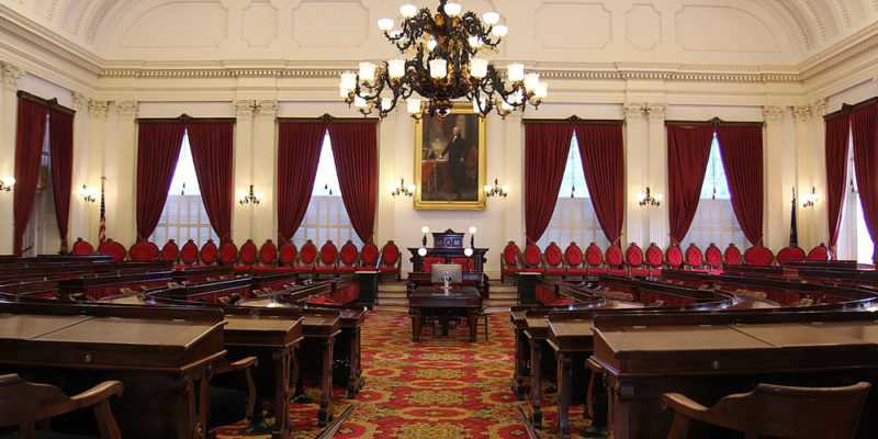 1599px Vermont State House Representatives Hall 800x400 Vermont set to become the first state to legalize weed through the legislature