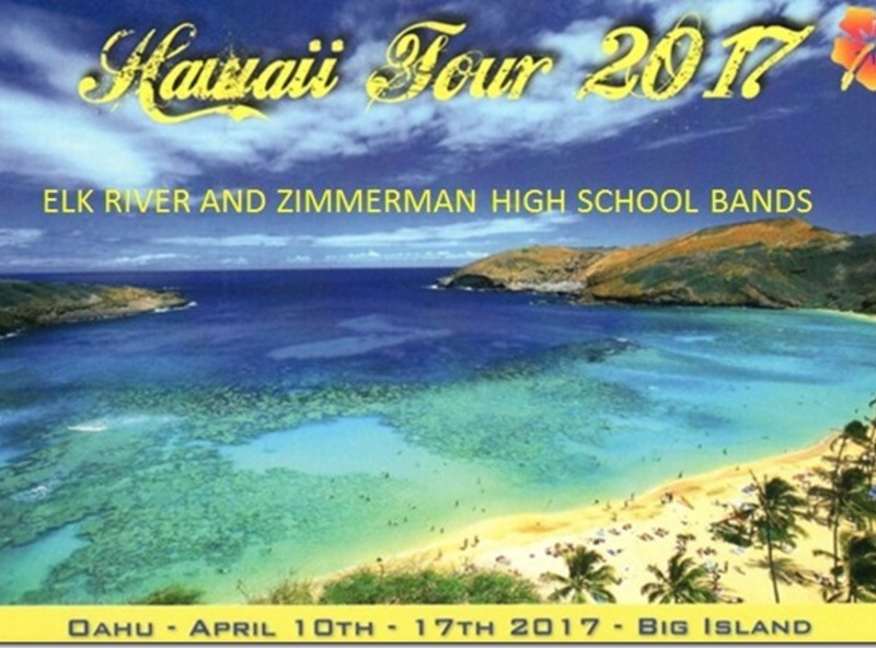 Elk RiverZimmerman Bands Hawaii Tour 2017  SCHWANS CARES