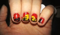 Lion King Nails | blipbarr | Blipfoto