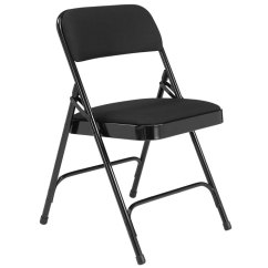 Cloth Padded Folding Chairs Rocking Chair For Nursery Ikea National Public Seating W Double Hinge Black 2210