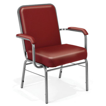 big and tall outdoor resin chairs mid century upholstered chair west elm ofm anti microbial vinyl stacking arm by 300 xl vam stock 31137