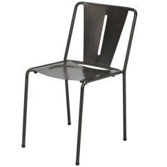 Cafe Chairs Metal Restaurant Supply Kfi Seating Element Industrial Style Chair 6200