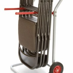 Folding Chair Dolly Swivel Office No Arms Raymond Products 750
