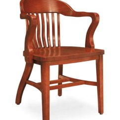 Solid Wood Chairs Hair Braiding Community Boston Oak Chair W Tall Arms 981a Wooden