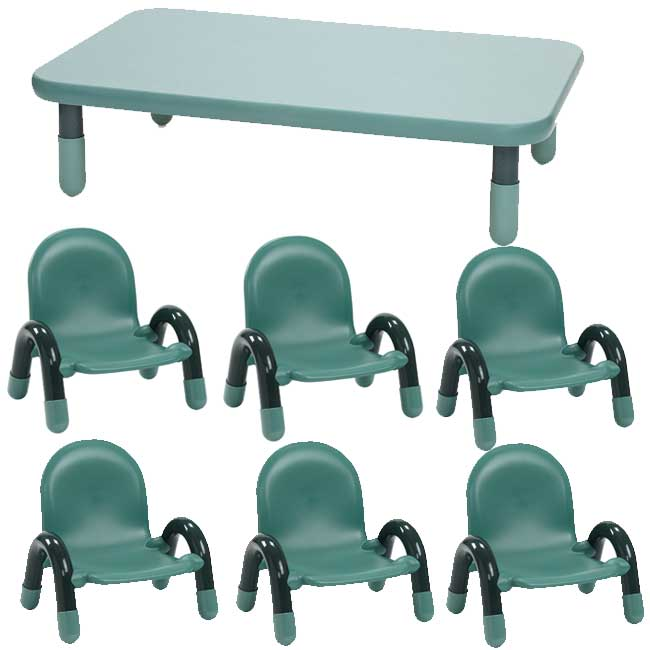 toddler table chairs 2 chair set angeles baseline 48 w x 30 d ab74512