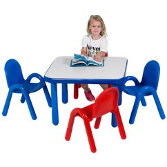 Toddler Table And Chair Set Cover Rental Wedding Angeles Baseline 30 Square Ab74112