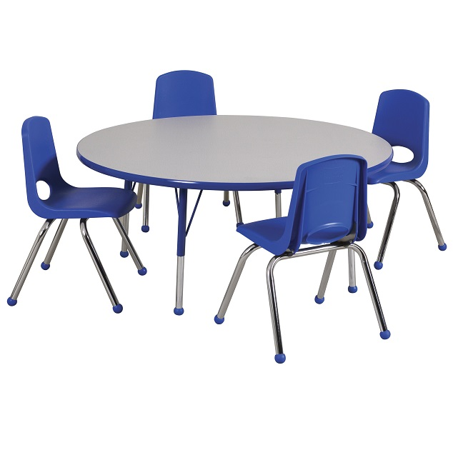 activity table and chair set design with name ecr4kids round package 48 w four 16 elr14115p4x16 xx