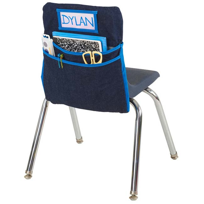 classroom organizer chair covers relax the back mobility lift ecr4kids seat companion large size elr 15914 school