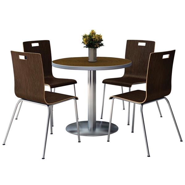 biz chair com fritz hansen office kfi seating silver base cafe 36 round table with four jive stack chairs by t36rd xx 9222 stock 97495