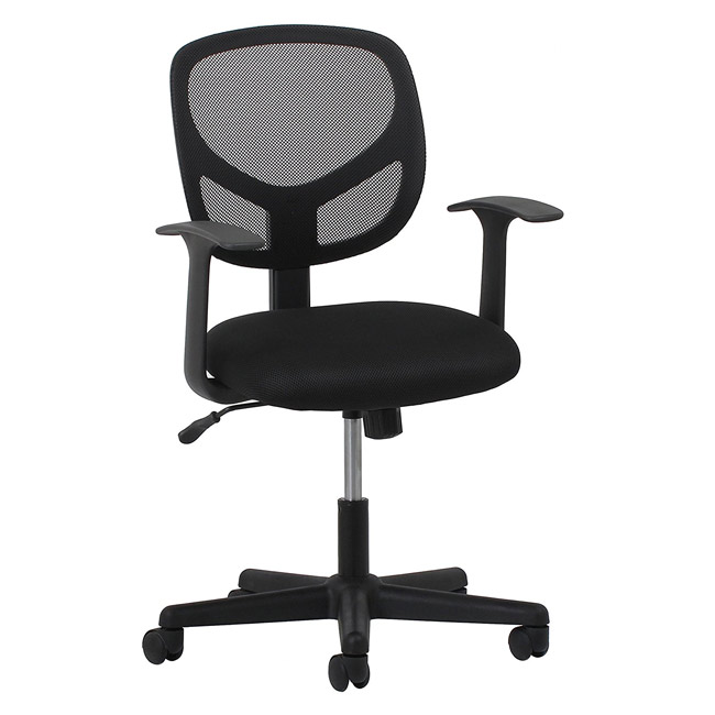 mesh task chair barber chairs in hyderabad essentials swivel with arms ess 3001 office executive back 1