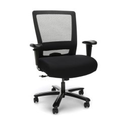Big And Tall Office Chairs Chair Covers For Sale Philippines Ofm Essentials Ergonomic Mesh Ess 3049