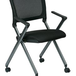 Office Star Chairs Grey Arm Chair Flex Back Nesting Fc8487 231 Guest And