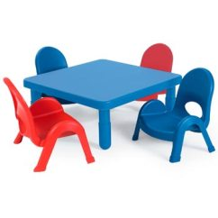 Toddler Table And Chair Set Over All Myvalue 4 Preschool By Angeles Options