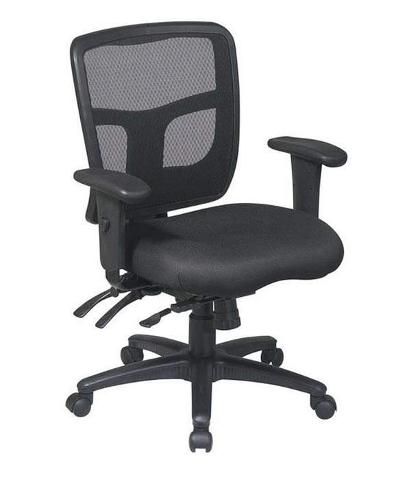 office star chairs wheelchair with pot progrid back managers chair mi 1522 30 mesh