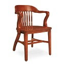 wooden library chair round lounge outdoor cushions chairs wood worthington direct click here for more boston solid oak by community