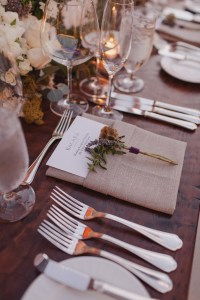 Reception Dcor Photos - Rustic Place Setting - Inside ...