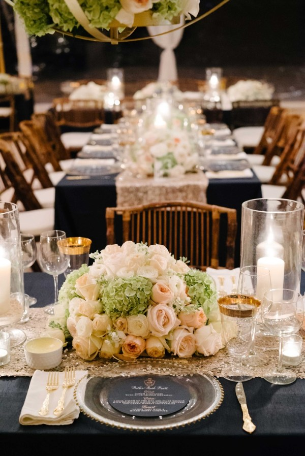 Navy And Rose Gold Deco Table Year Of Clean Water