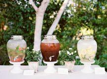 Food & Drink Photos - Water, Tea & Lemonade Drink Station ...