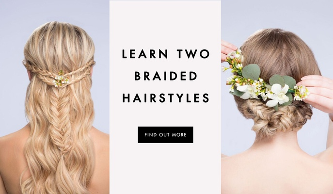 DIY Wedding Hairstyles Learn How To Style Two Looks Inside Weddings