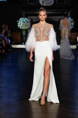 Wedding Dresses Unique Feather Amp Fringe Bridal Gowns