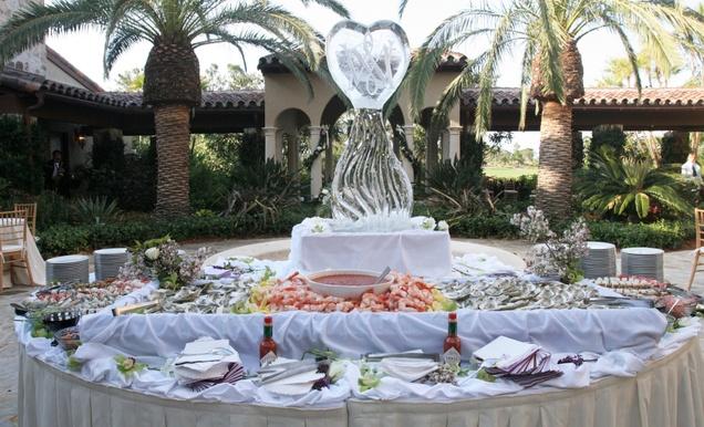 Lavender  Burgundy Spring Wedding at Golf Club in Florida