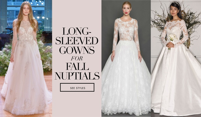 Bridal Gowns: Long Sleeve Wedding Dresses For Brides