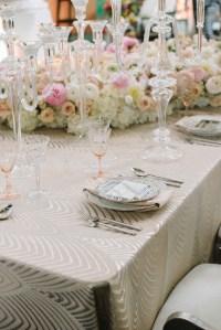 Reception Dcor Photos - Soft, Modern Table Setting ...