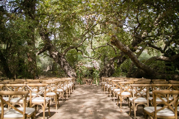 A Rustic, Camp-Themed Outdoor Wedding