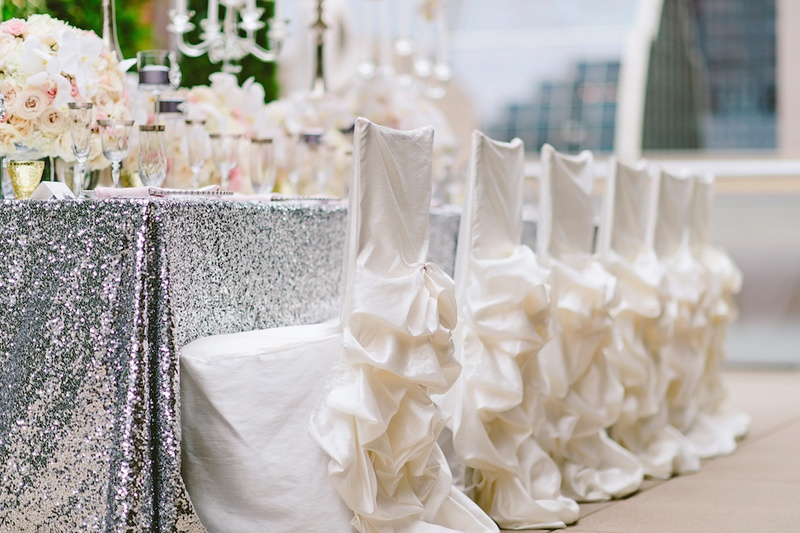 white chair covers cheap ergonomic to buy reception decor photos ruffle with pick ups wedding chairs and skirts
