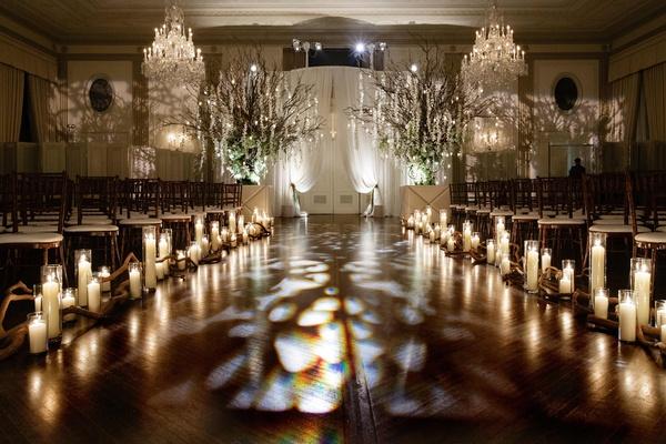 Indoor Chicago Wedding Celebration With Outdoor Inspired
