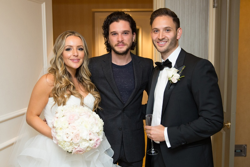 Guests Amp Family Photos Newlyweds With Kit Harington