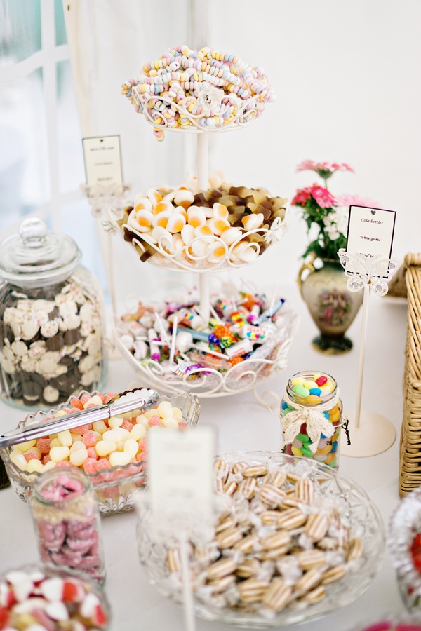 Cakes  Desserts Photos  Candy Dessert Table Display