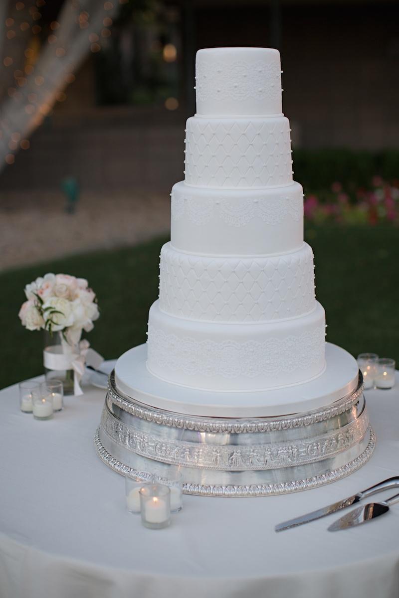 Cakes Desserts Photos All White Wedding Cake Inside Weddings