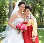 Picture of Deceased Mother On Wedding Bouquet