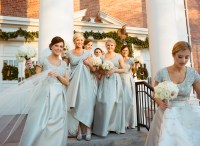 Bridesmaid Dresses For Winter Weddings