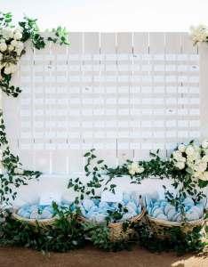 Beach wedding escort card display also ideas unique displays  seating charts inside rh insideweddings
