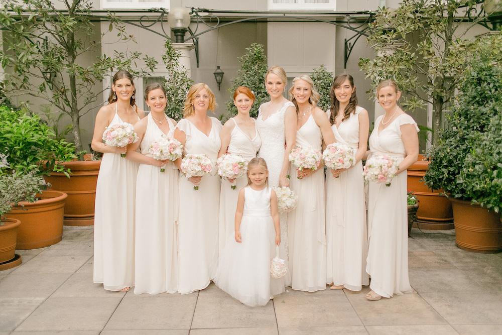 mismatched bridesmaid dresses different