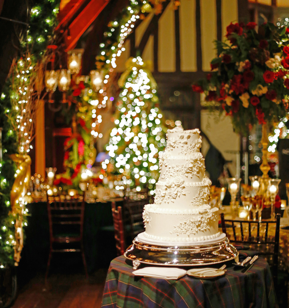 Christmas Decorations Reception Wedding