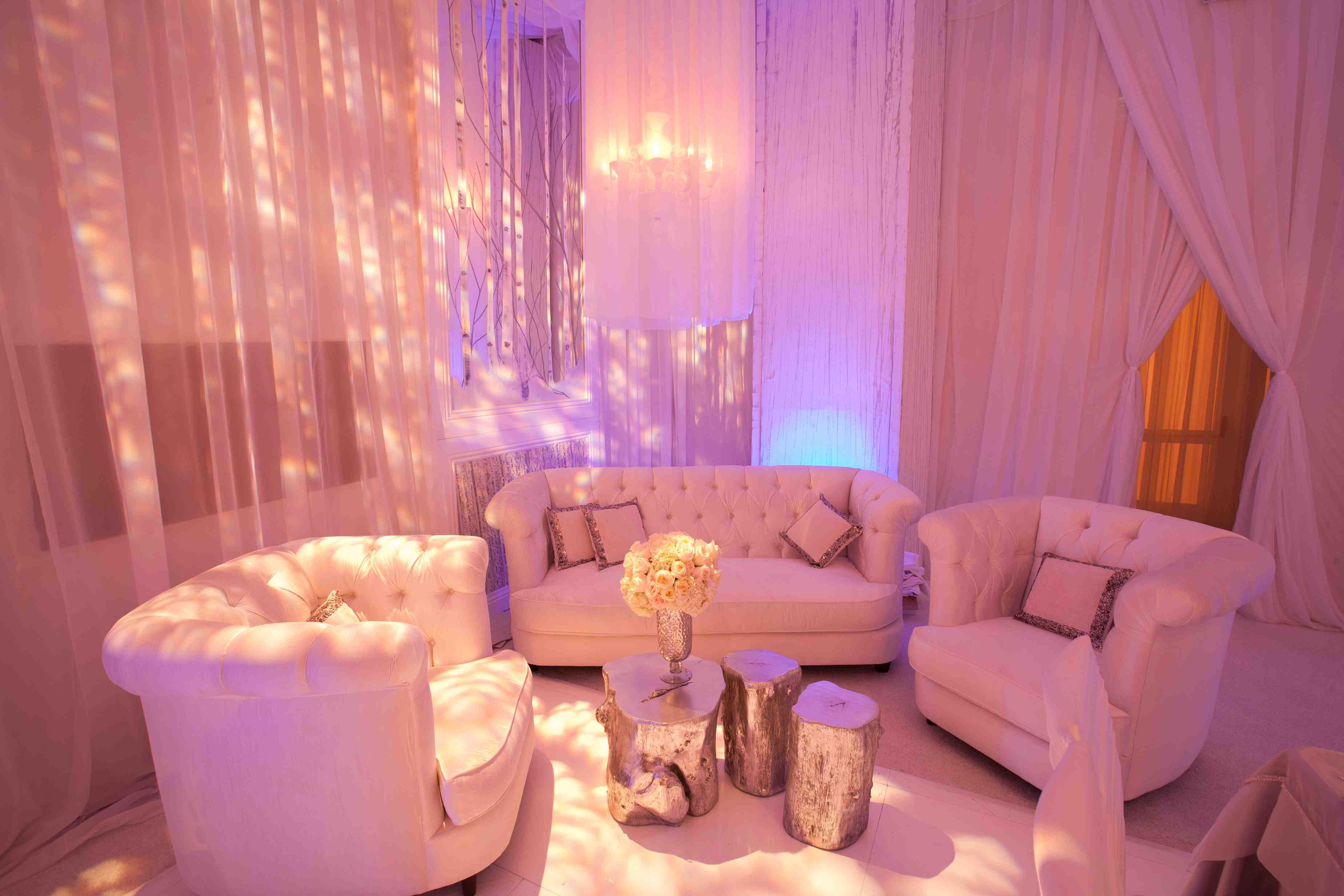 burlesque pink sofa sofas and chairs next wedding reception ideas how to keep guests energized