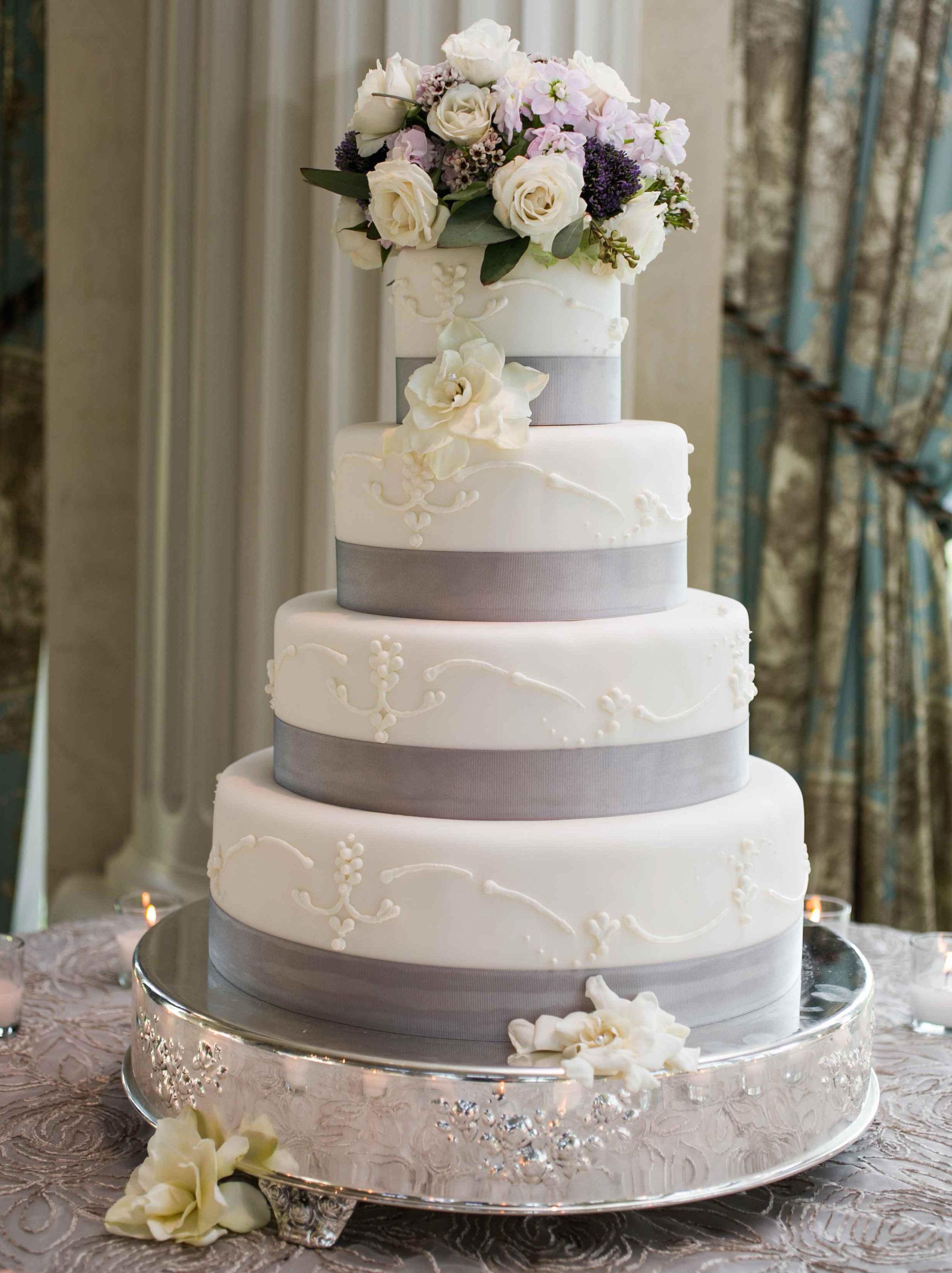 Wedding Color Palette 16 Grey Wedding Dcor Ideas  Inside Weddings
