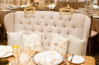 Tufted Furniture Rentals: Give Your Wedding a Glam Look ...