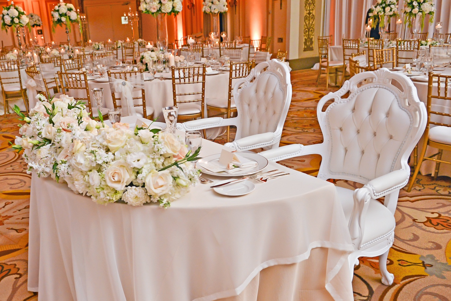 Wedding Chair Rentals Tufted Furniture Rentals Give Your Wedding A Glam Look