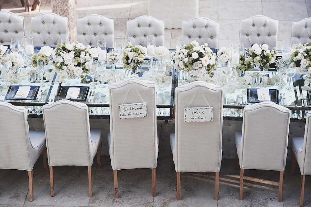 wedding chair rentals v rocker gaming cables tufted furniture give your a glam look inside brittney palmer reception chairs