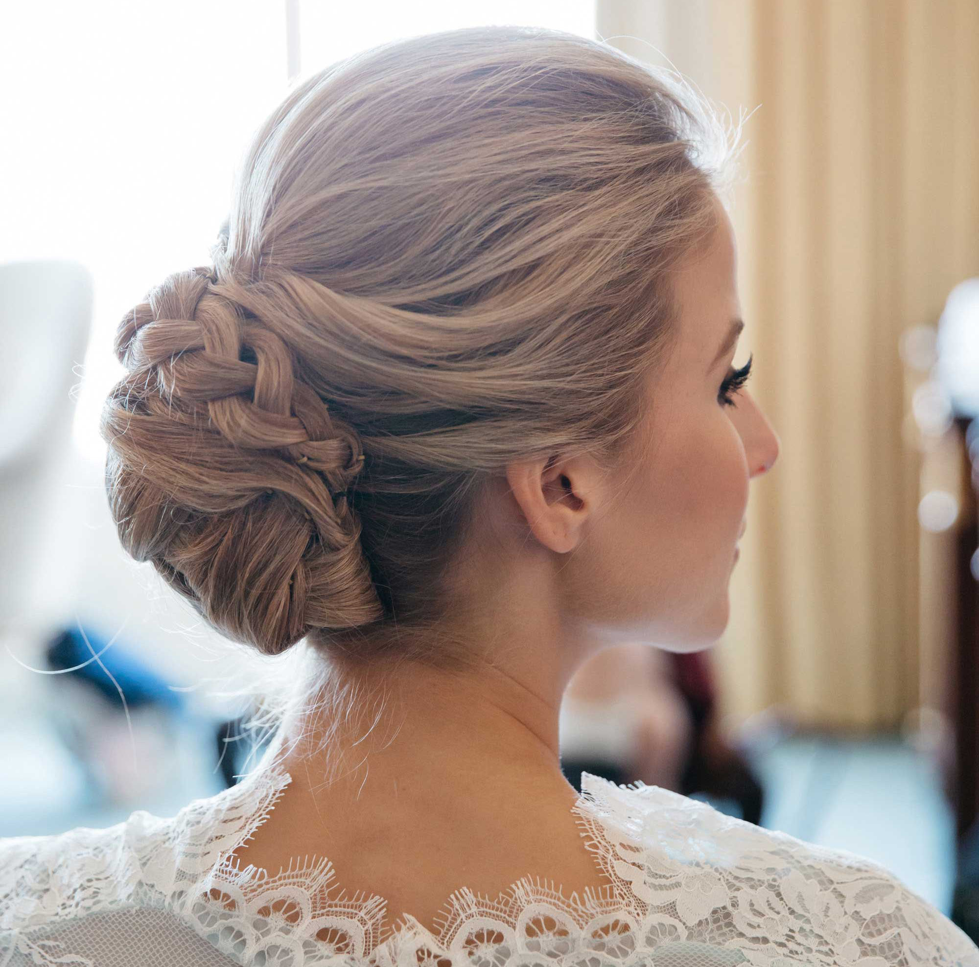 Chignon Updos For Weddings