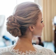 chignon updos weddings