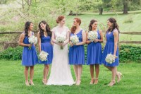 Bridesmaid Dresses: Short Dresses vs. Long Gowns - Inside ...