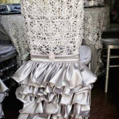 Events By Designer Chair Covers Pool Lounge Chairs Walmart Wedding Ideas 8 Ways To Add Ruffles Décor Inside