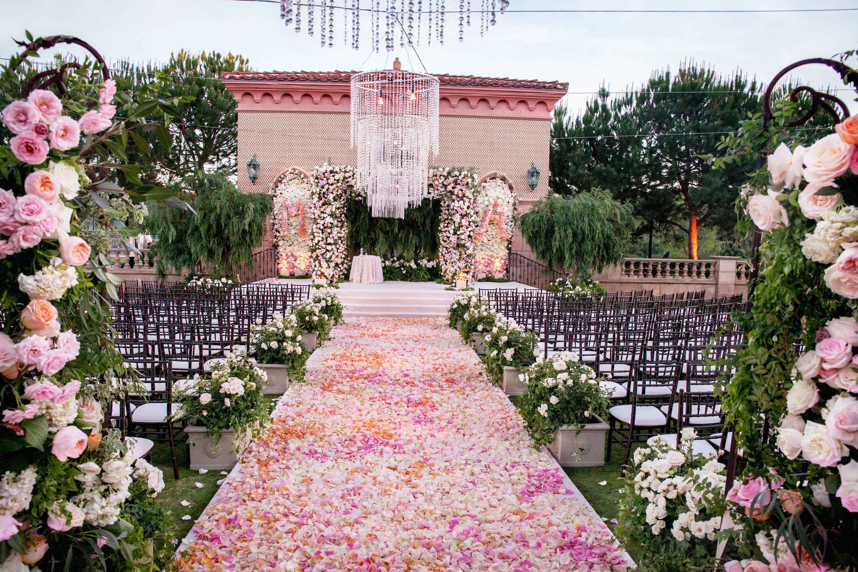 Wedding Ideas: Beautiful Ceremony Floral Aisle Runner