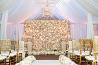 Flower and Plant Walls for Rustic-Chic Wedding Dcor ...
